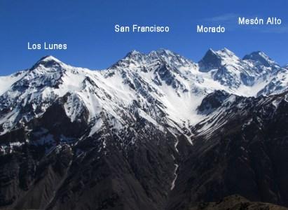 Ascenso Cerro Los Lunes – 20 y 21 de julio