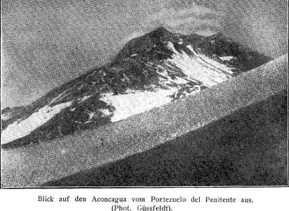 Primer Intento de Ascenso al Aconcagua en 1883 por el Dr. Güssfeldt – Traducción del relato publicado en 1930