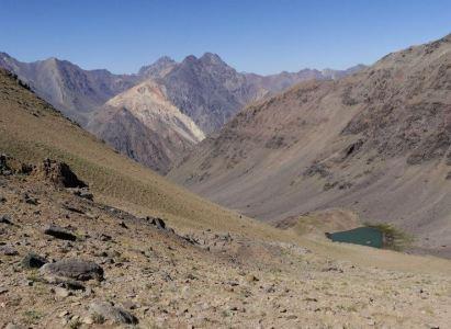Ascenso Cerro Punta Ventanas / Laguna Rubillas