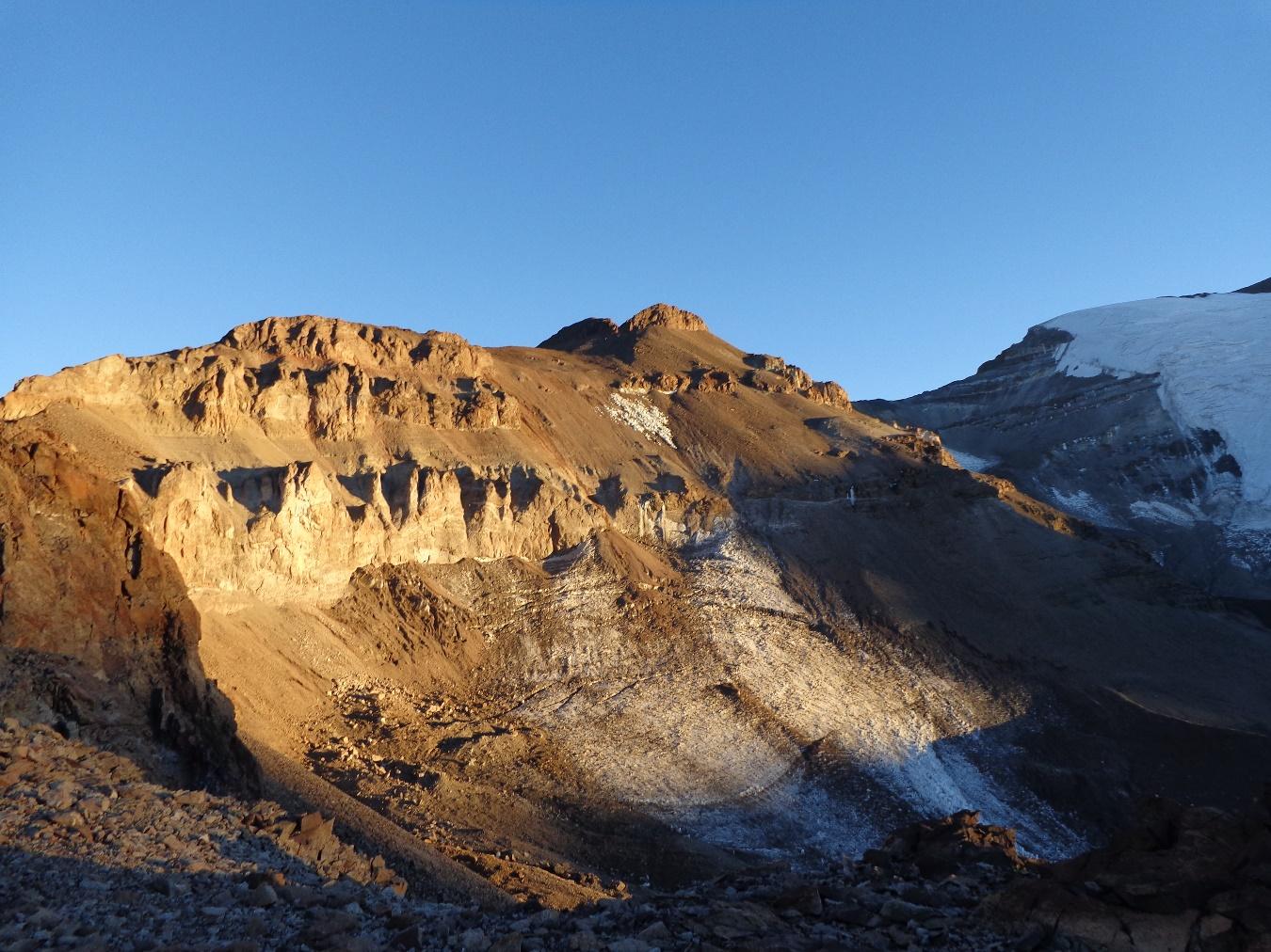 Ascenso cerro Leonera – 5 y 6 de Enero del 2019