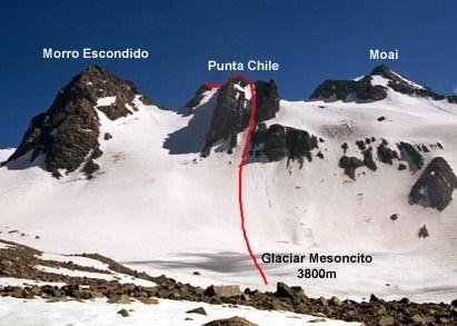 Cerro Punta Chile 27-28 de Mayo