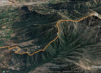 Cerro Papagayo (20 de mayo de 2017)