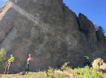 Sal a escalar en roca por PRIMERA VEZ!! – Sábado 14 de Octubre
