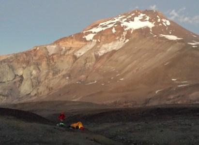 Volcán Tupungato (6570 msnm), 12 al 20 de enero 2018