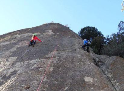 ¿Tus primeras escaladas en roca?, ven con nosotros el Sábado 10 de Febrero