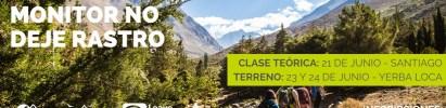 Curso Monitor No Deje Rastro – Santiago – Junio del 2018