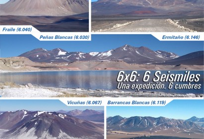 PROGRAMA DE ASCENSO 6×6: 6 SEISMILES PARA CORDADAS DAV – Enero del 2019