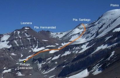 Ascenso Punta Santiago – 9 y 10 de Febrero