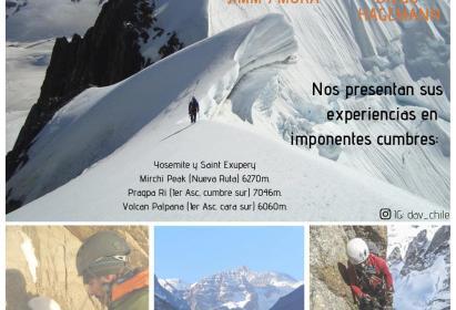 Diaporama a Beneficencia, expositores Jimmy Mora y Diego Hagemann.  Viernes 10 de mayo 19:30