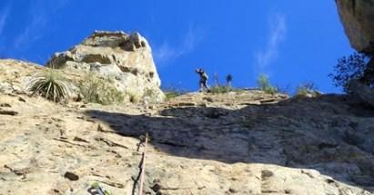 Salida escalada con instructor Quebrada Alvarado – 27 y 28 de Julio