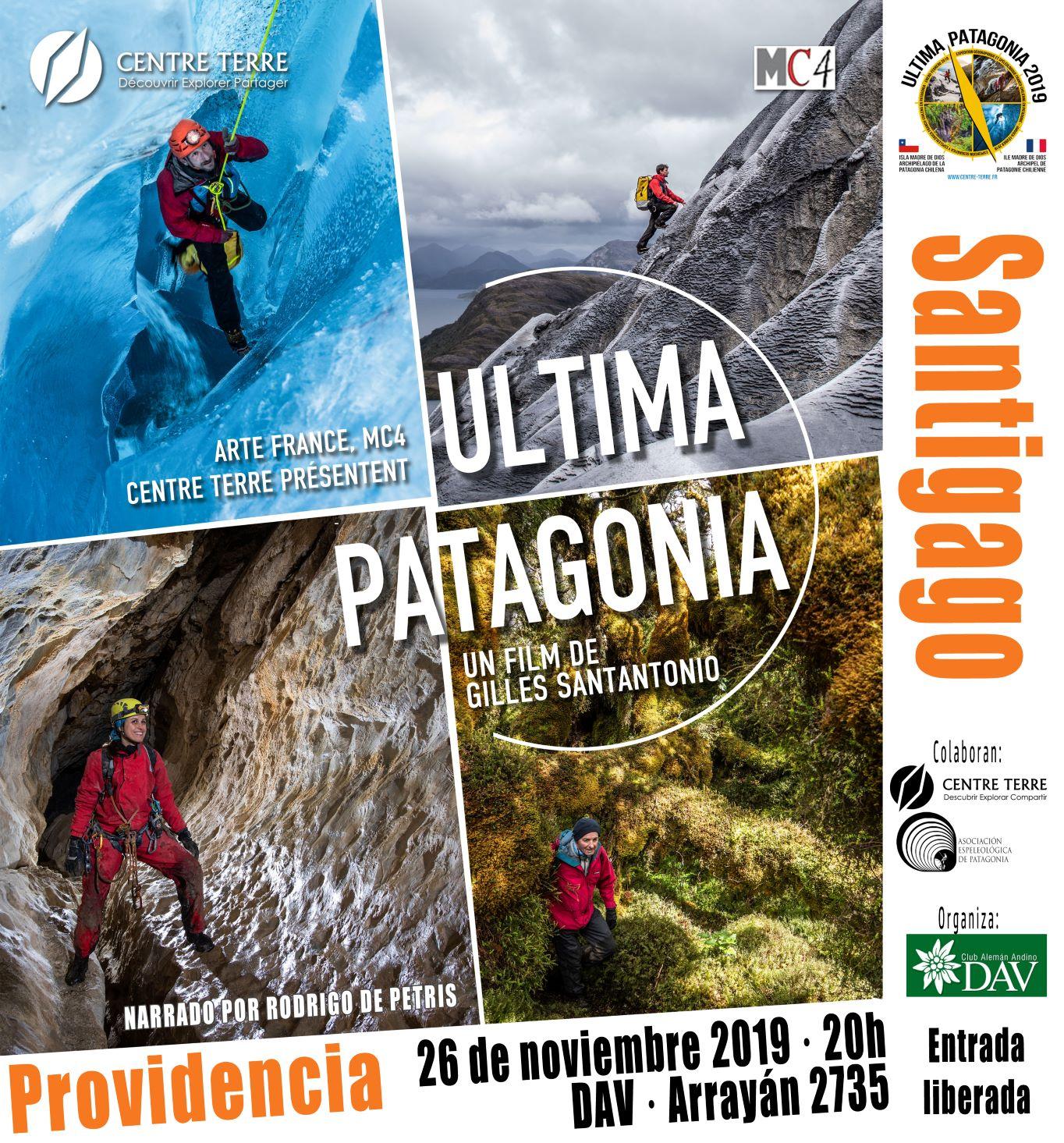 Película Última Patagonia – 26 de Noviembre