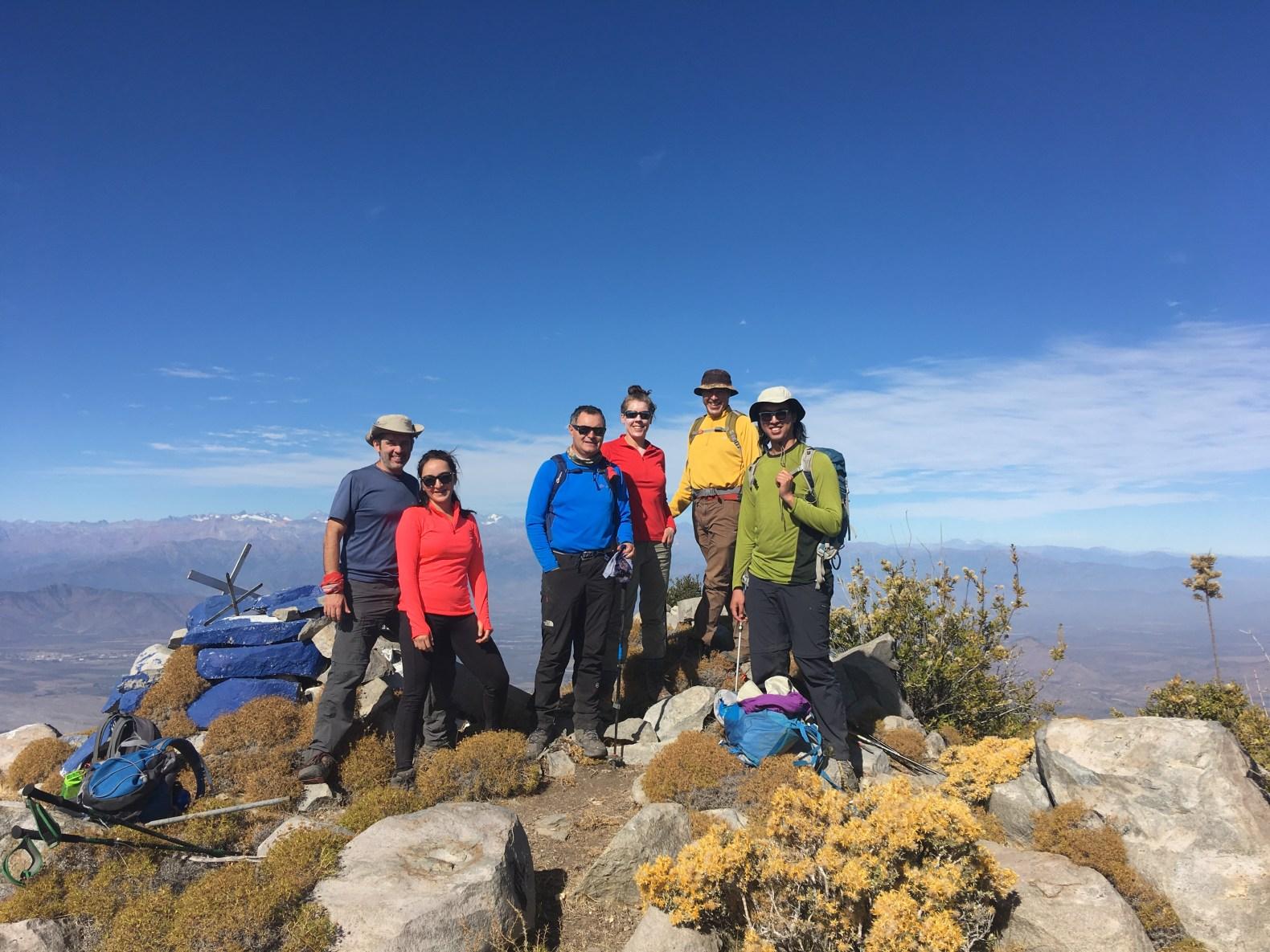 Cerro Llivi Llivi sábado 19 de octubre
