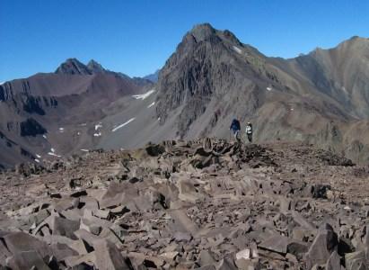 Ascenso cerro Valdés – 31 de Octubre y 1° de Noviembre
