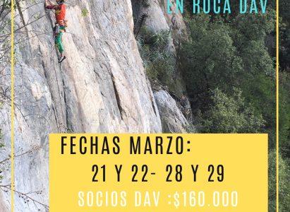Curso Escalada Deportiva – Marzo 2020