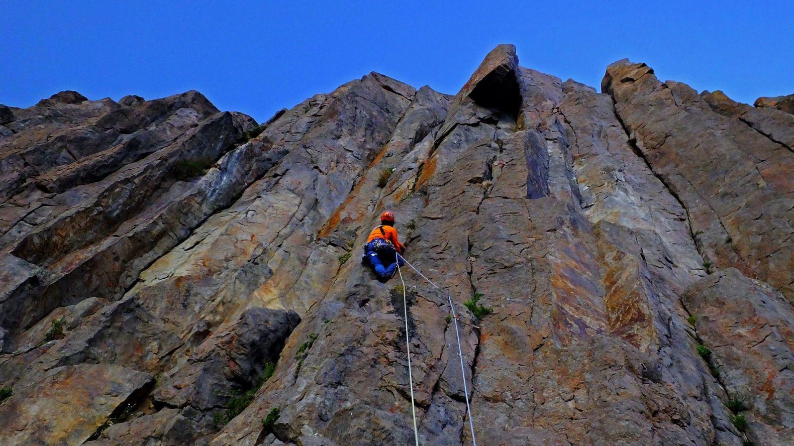 Curso Escalada en Roca Nivel Intermedio – Abril 2020