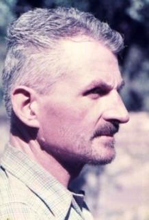 Eberhard Meier en 1954 al regresar del Nevado Piuquenes