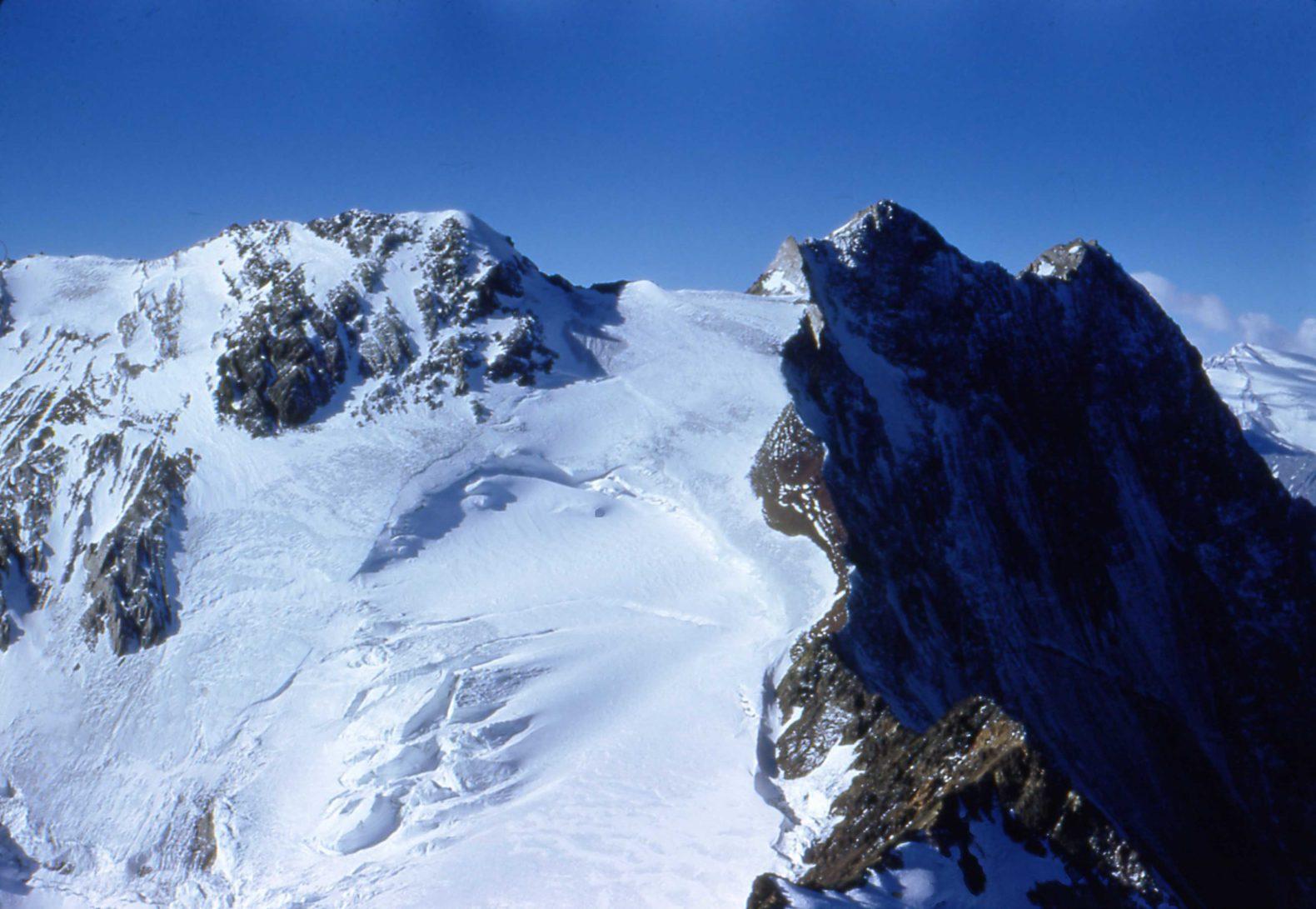 Ascenso al cerro Cortaderas en 1951 – Fotos de Eberhard Meier