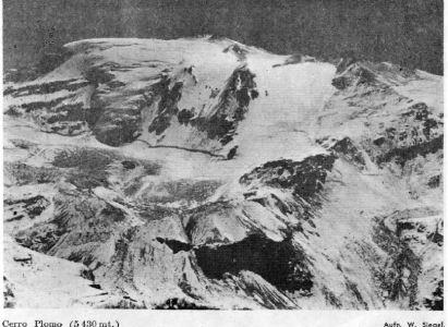Primer Ascenso Invernal del cerro Plomo – Traducción del artículo publicado en 1958