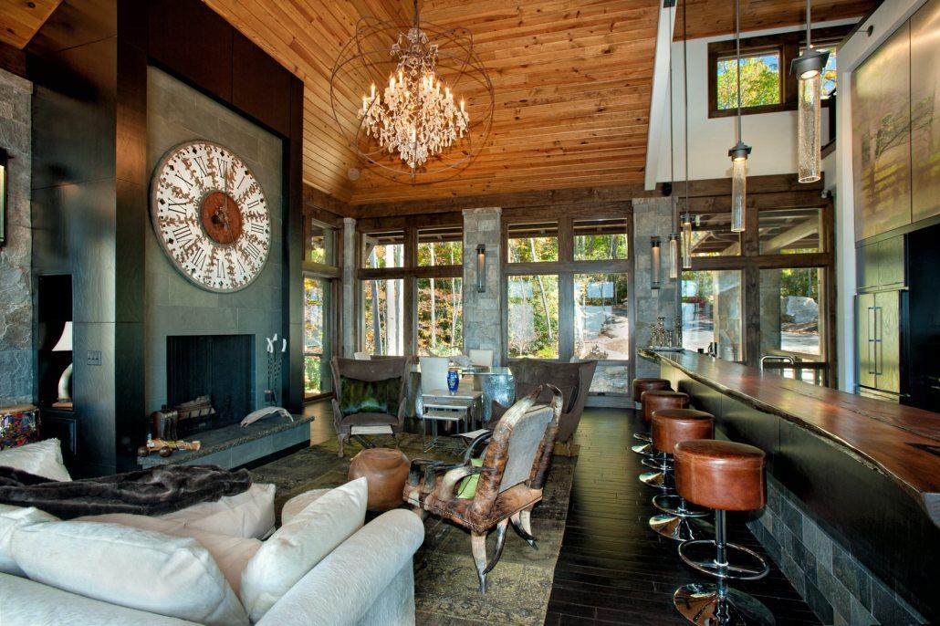 mountain interior design