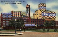 Checkerboard Square Home of Purina Chows St. Louis