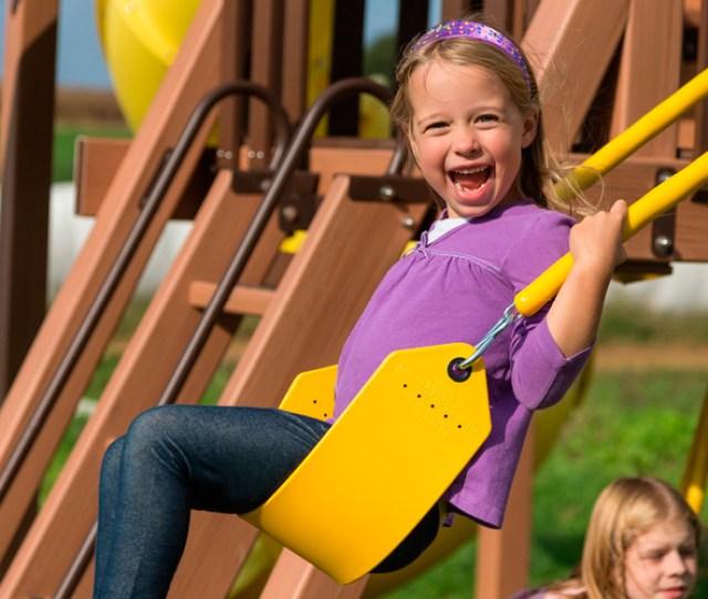 Lifestyle Child On Swing