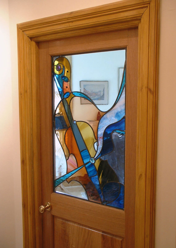 Music room door panel