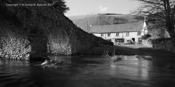 Lorna Doone Farm and Bridge, Exmoor, England
