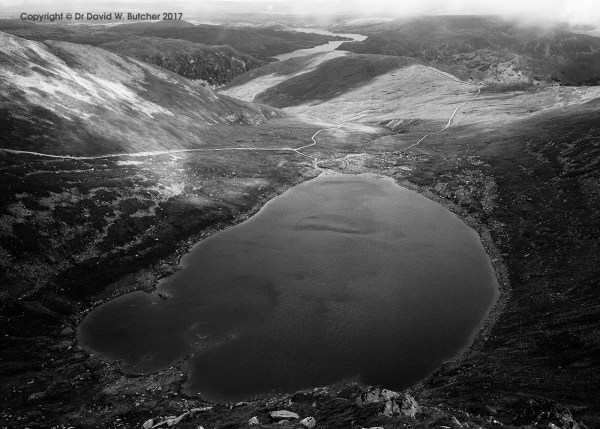 Red Tarn and Beyond from Helvellyn, Lake District