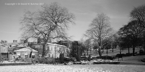 Buxton Old Hall Hotel in Snow, Peak District