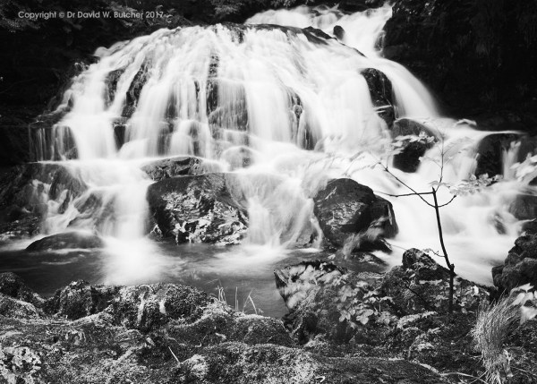 Fairy Falls Treffriw, Snowdonia, Wales