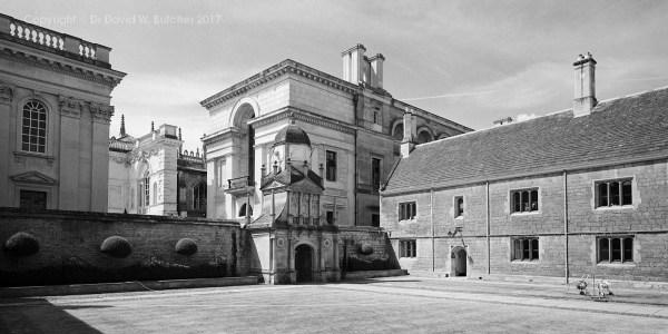 Cambridge Goville and Caius College Caius Court, England