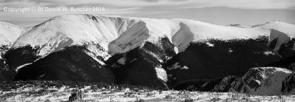 Winter Park Mountain View, Colorado, USA