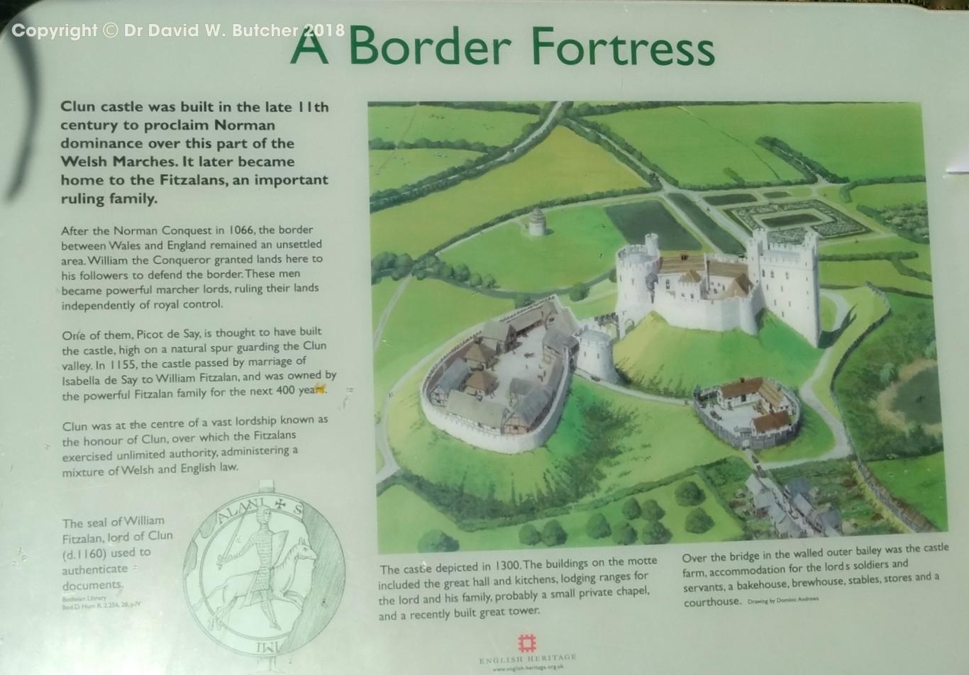 Clun Castle, Shropshire