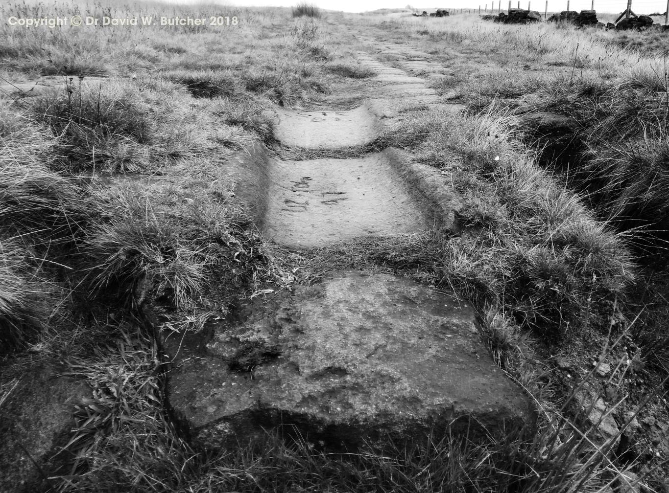 Blackstone Edge Roman Road near Littleborough