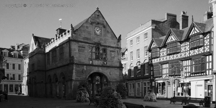 Shrewsbury Square and Old Market Hall, Shropshire