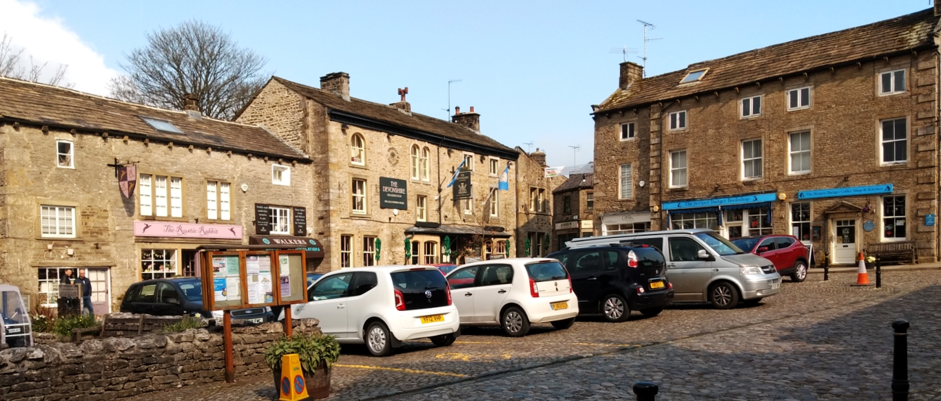 Grassington Market Place