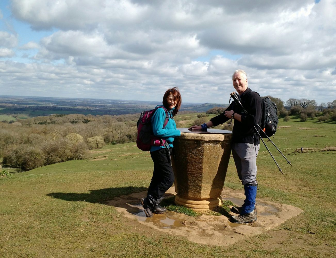Jan and Al near Chipping Campden, Cotswolds