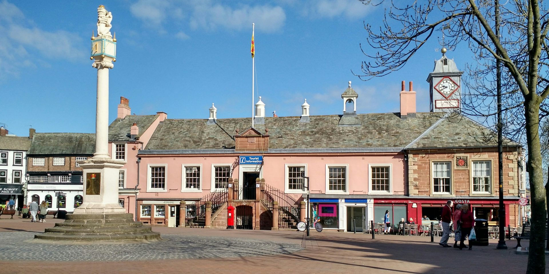 Carlisle Tourist Centre, Cumbria Way Start / Finish