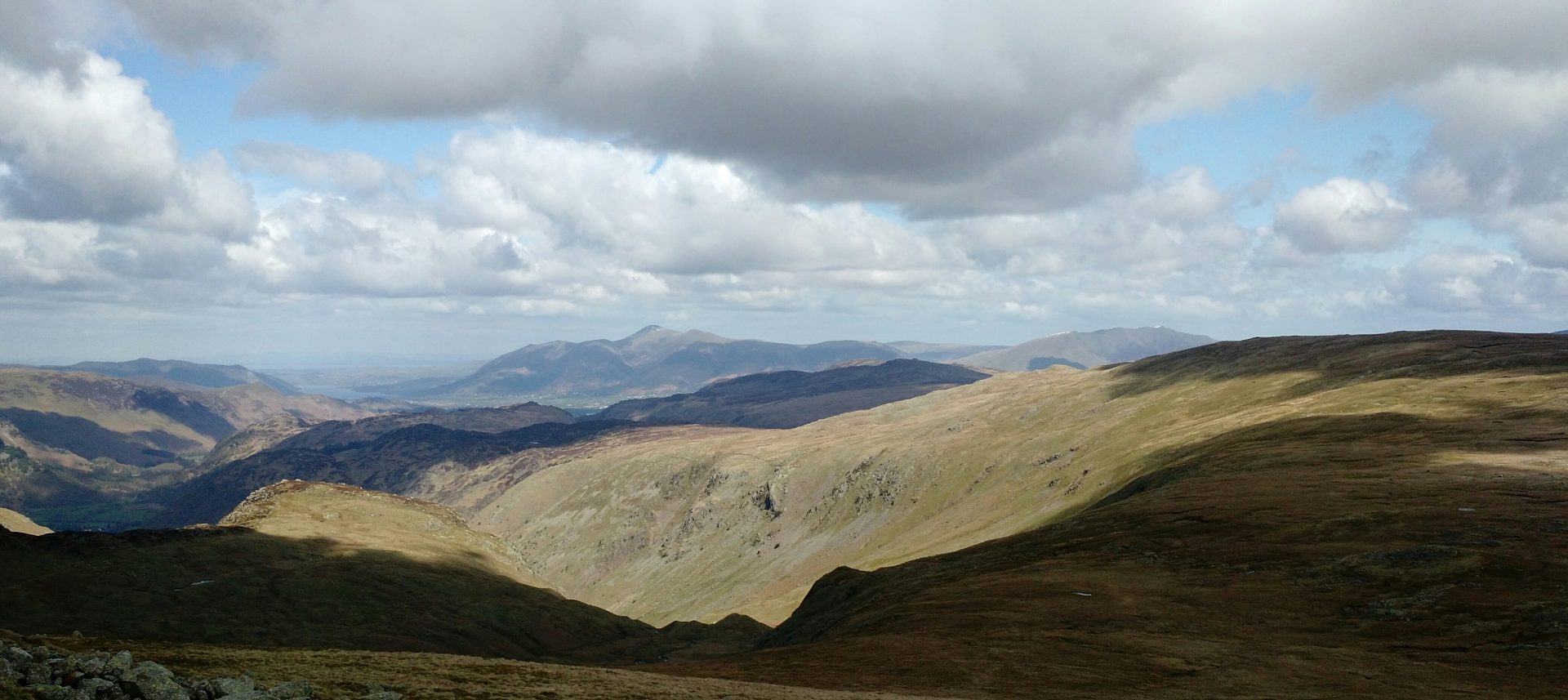 Skiddaw from High Raise, Langdales