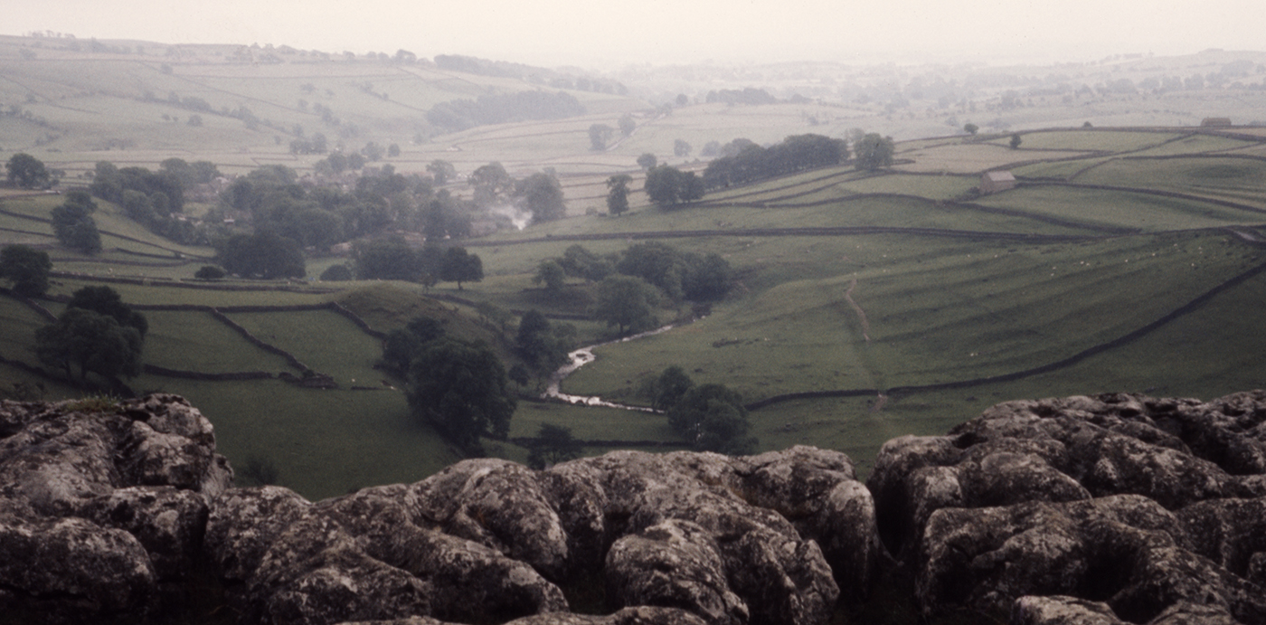View from the top of Malham Cove