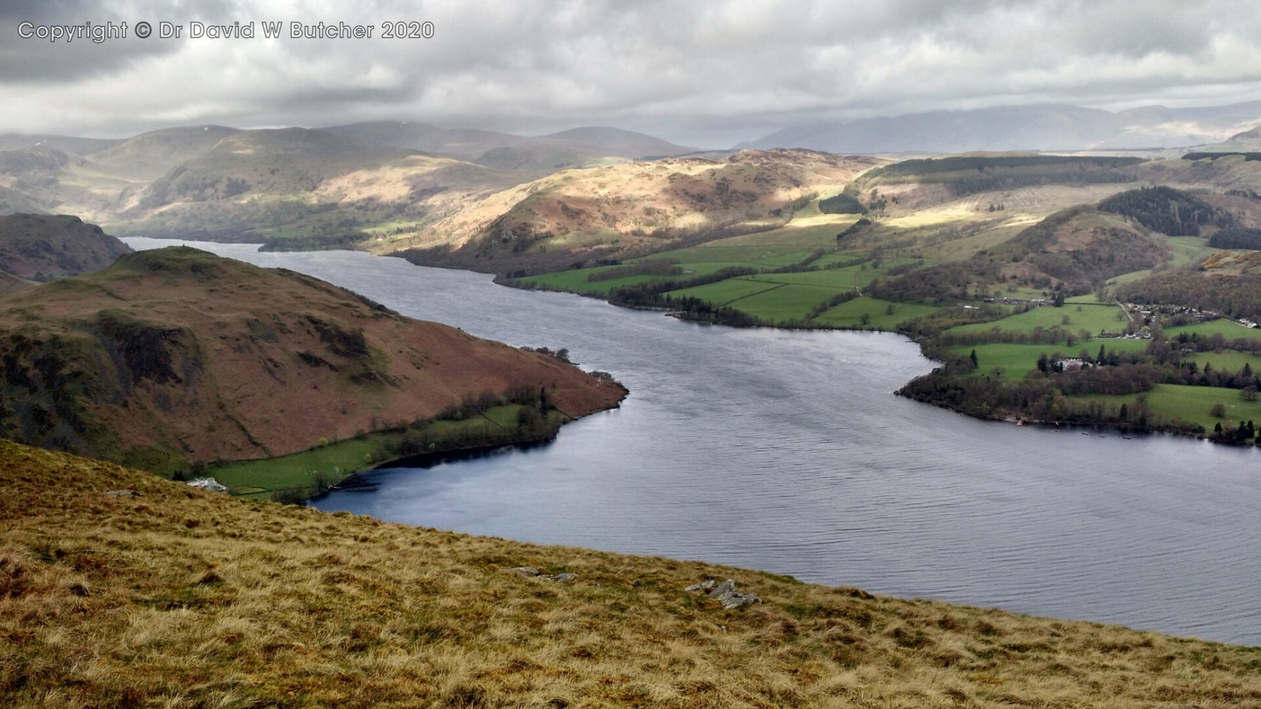 Ullswater from near Arthur's Pike, Lake District