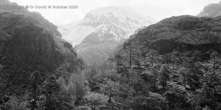 An Gearanach from Glen Nevis, Fort William, Scotland