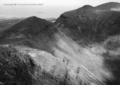 Quinag Spidean Coinich Ridge View, Sutherland, Scotland