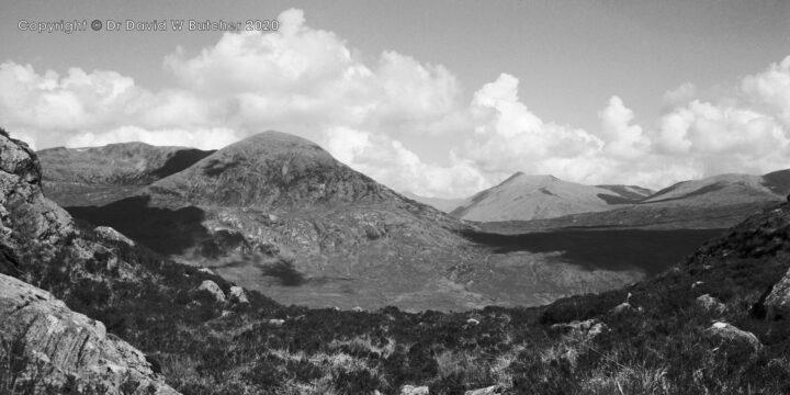 Creag a'Mhaim from Mam na Seilg, Glen Shiel, Scotland