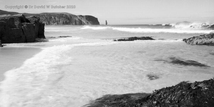 Sandwood Bay from North, Sutherland, Scotland