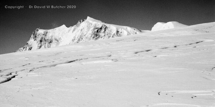 Monte Rosa from Schwarzberg Weisstor, Zermatt, Switzerland