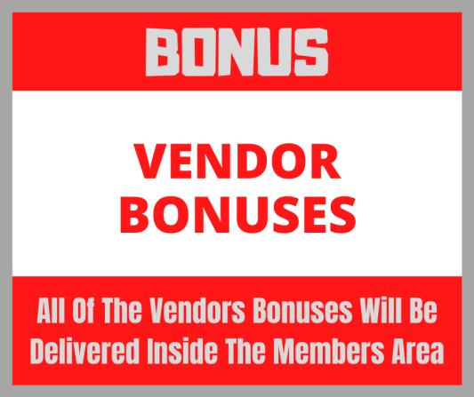 vendor bonuses