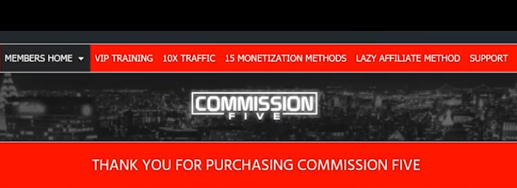 Commission Five Review Members area