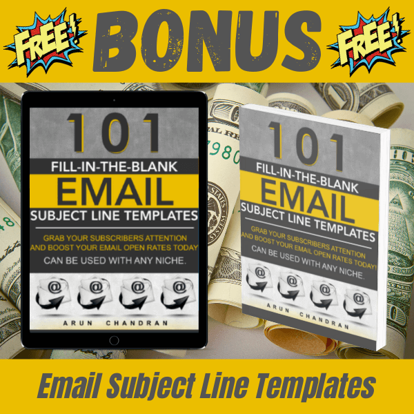 BONUS First 100 Review - Email Subject Line Templates