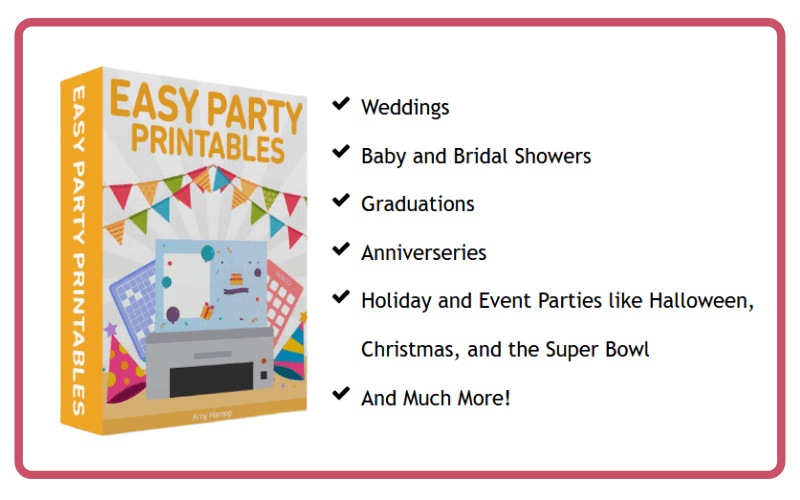 Easy Party Printables Review
